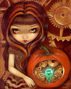 A Clockwork Pumpkin