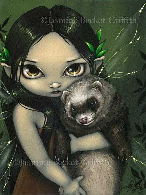 A Ferret and His Fairy