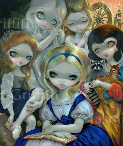 Alice and the Bougueareau Princesses