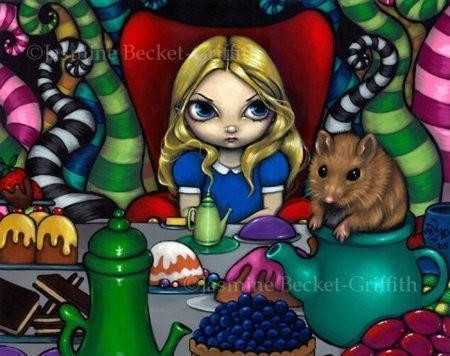 Alice and the Dormouse