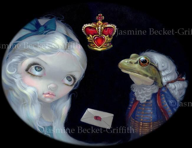 Alice and the Frog Footman