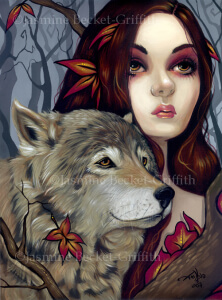 Autumn Wolf Maiden