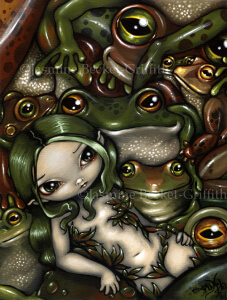Bed of Frogs