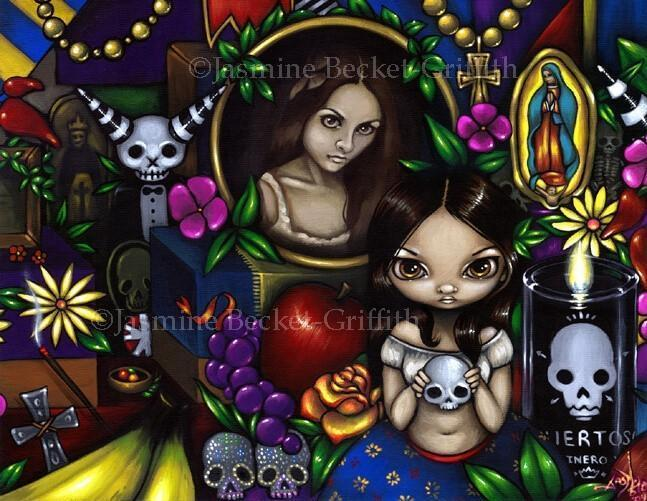 Dia De Muertos Imagenes Animadas: Strangeling: The Art Of Jasmine
