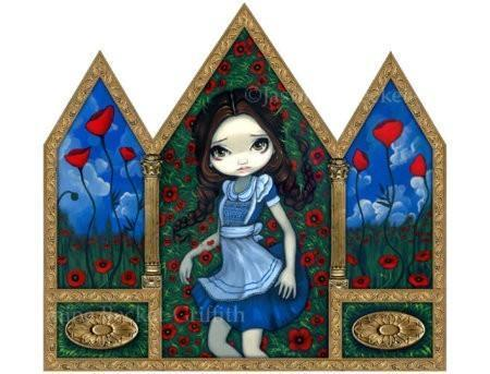 Dorothy in the Poppies
