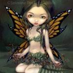 Fairy with Dried Flowers 1