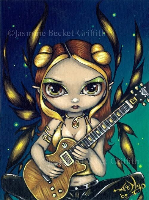 Golden Guitar Fairy