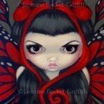 Grumpy Red Fairy 1