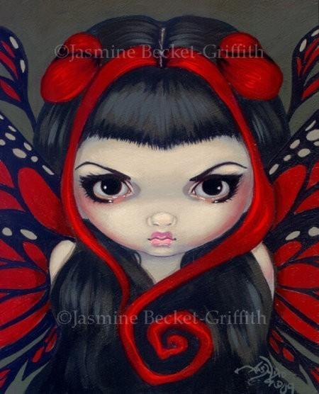 Grumpy Red Fairy