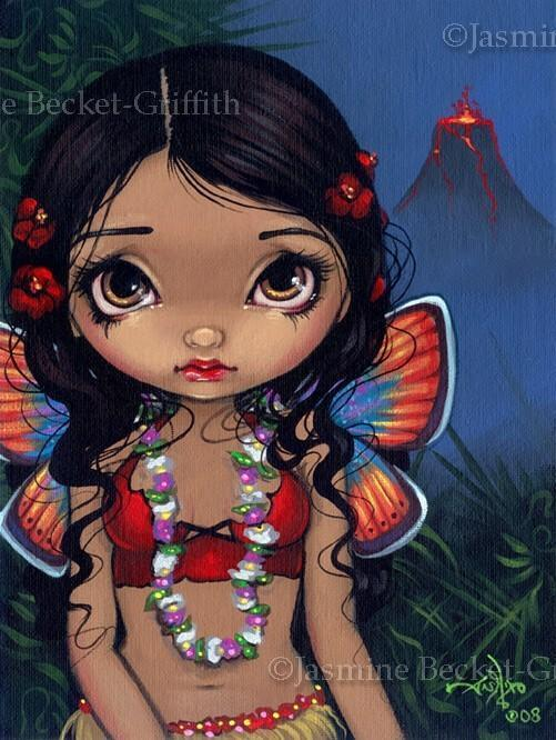 Hawaiian Volcano Fairy