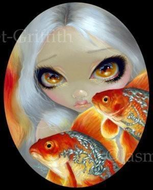 Jeweled Fish: Silver and Gold