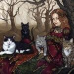 Karen and Her Cats 1