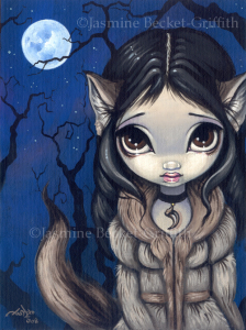Little Wolf Girl