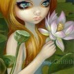 Mermaid Picking Lotus Blossoms