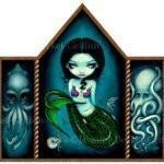 Mermaid with Cephalopods 1