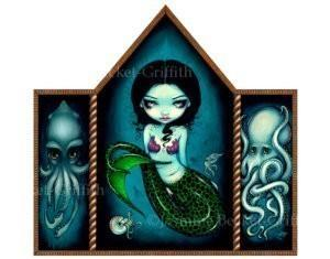Mermaid with Cephalopods
