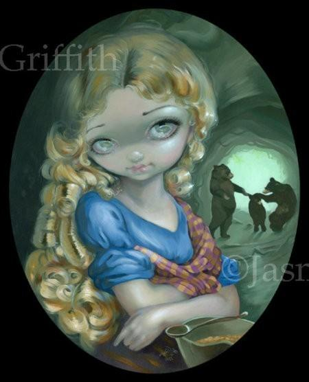 Portrait of Goldilocks