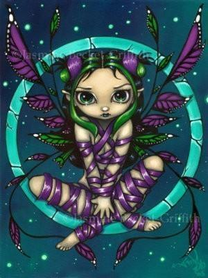Purple Ribbon Fairy