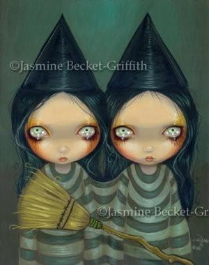Siamese Witch Twins