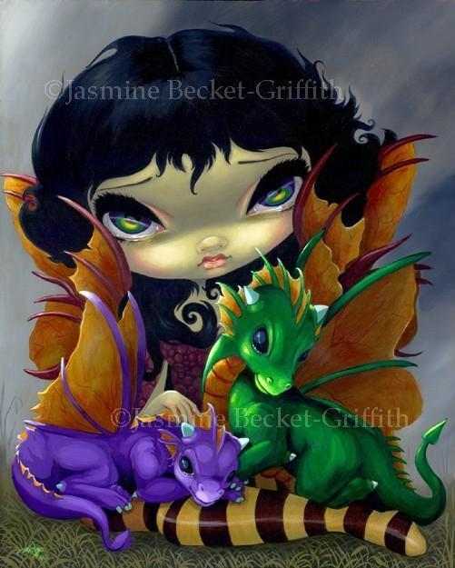 Two Cute Dragonlings