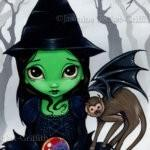 Wicked Witch and Her Flying Monkey 1