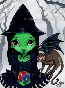 Wicked Witch and Her Flying Monkey