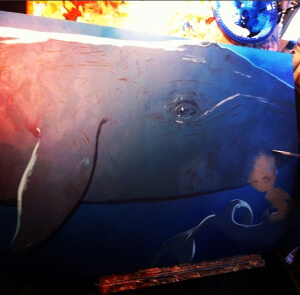Big Blue Whale work-in-progress