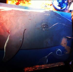 Big Blue Whale work-in-progress