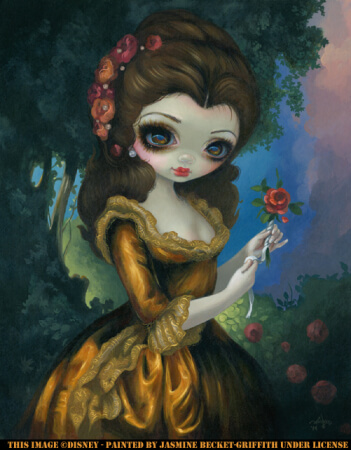 Princess Belle S Royal Portrait Strangeling The Art Of