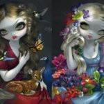 flora and fauna set