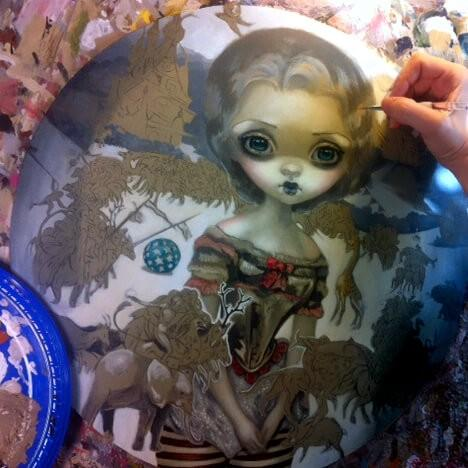 Corey Helford Gallery Work In Progress