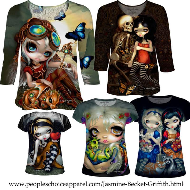 Jasmine Becket-Griffith Shirts