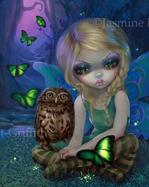 The Four Seasons Seasonal Fairy Print Set By Jasmine