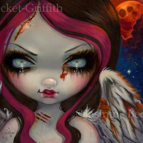 Faces Of Faery 234 Zombie Angel Fairy Jasmine Becket Griffith