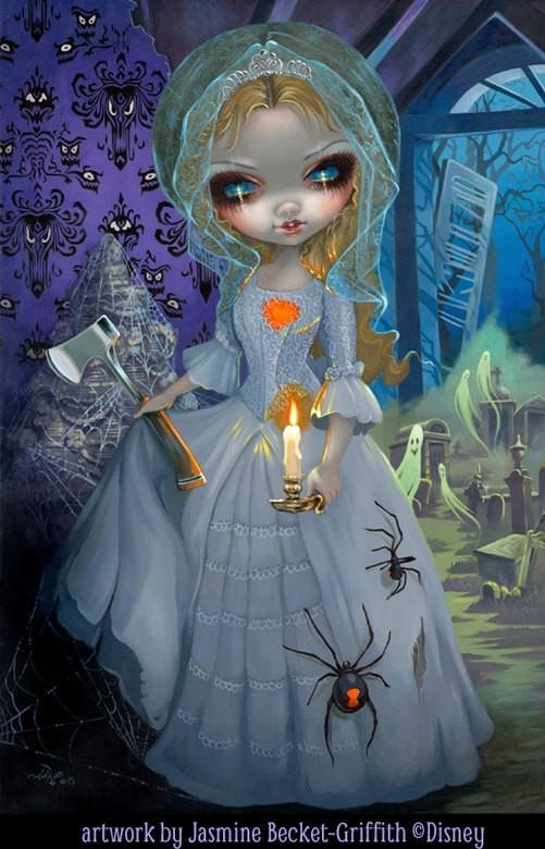 Strangeling The Art Of Jasmine Becket Griffith