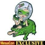 AlligatorGirlPin