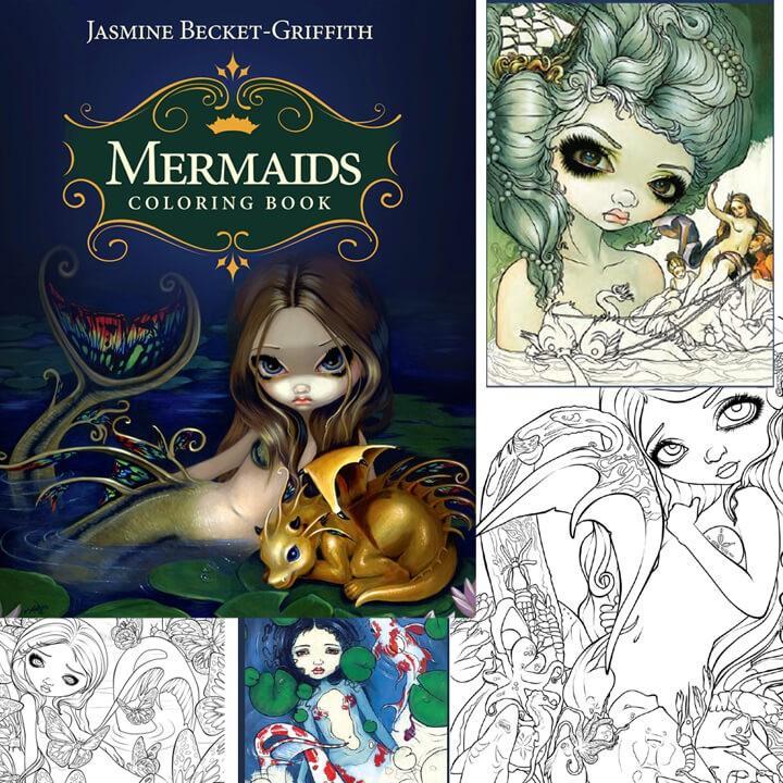 mermaidscoloringbookjasmine