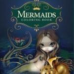 MermaidsColoringBookFrontCover
