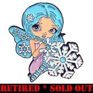 SnowflakeFairyPinRETIRED