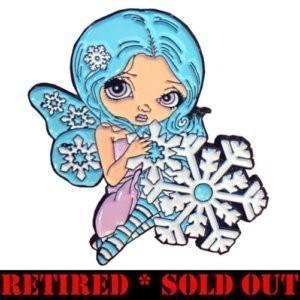 Jasmine Becket-Griffith art Mistletoe Fairy Collectible Enamel Pin winter faery