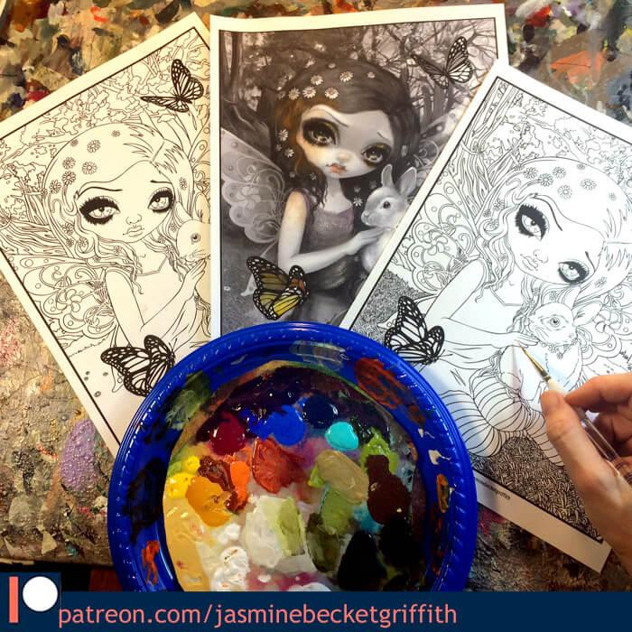 Patreon Archives - Strangeling: The Art of Jasmine Becket