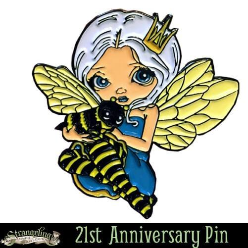 FREE Bee Princess pin with purchase of $25+