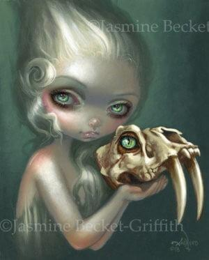 Microcosm Fawn Jasmine Becket-Griffith CANVAS PRINT lowbrow pop surrealism art