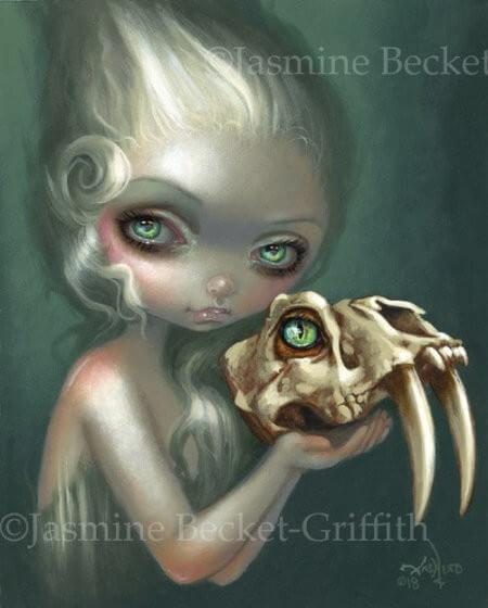 Strangeling: The Art of Jasmine Becket-Griffith - Gothic