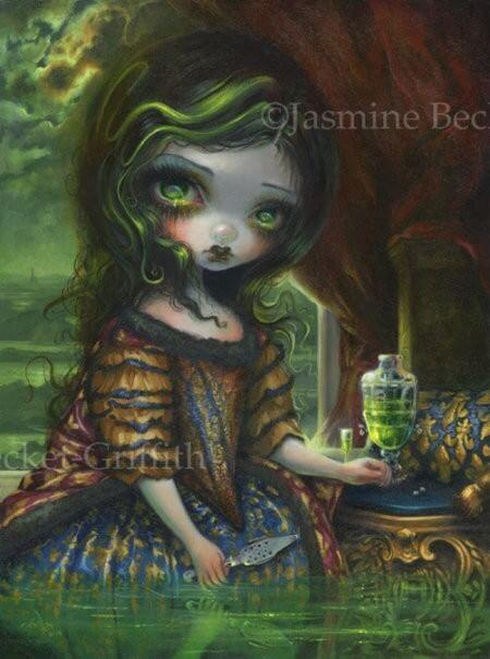 Strangeling The Art Of Jasmine Becket Griffith Gothic