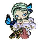 ButterfliesAndBonesPin