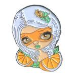 OrangeMaskPin